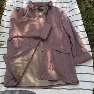 Vintage Light Brown Oversized Jacket Pizazz